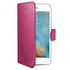 iPhone x Echt Leer Hoesje Roze