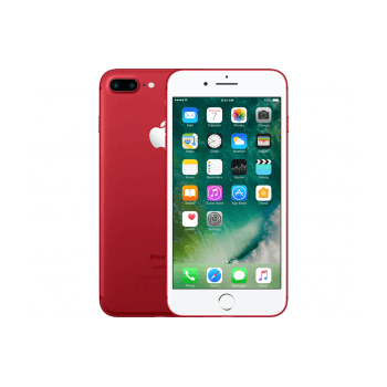 Refurbished Iphone 7 plus 128GB rood