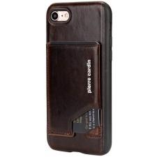 iPhone 7 Plus Origineel Luxe Back Cover Pas 100% Leer Donker Bruin
