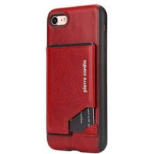 iPhone 8 Plus Origineel Luxe Back Cover Pas 100% Leer Rood