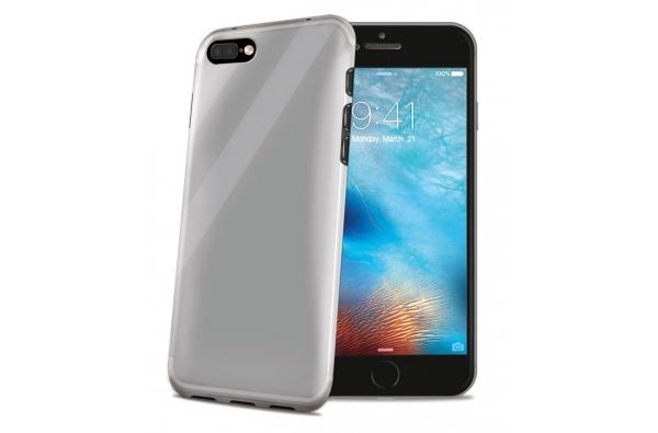 iPhone 7 Plus Gelskin hoesje licht grijs