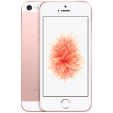 Refurbished iPhone SE roze