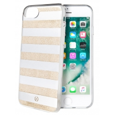 iPhone 7 Gestreepte achterkant goud