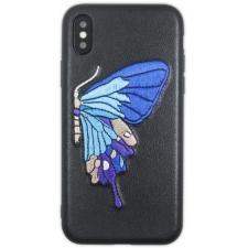 iPhone X hoesje Echt leer 'Vlinder'