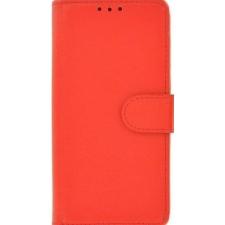 iPhone X boek hoesje 100% echt leer in Rood
