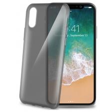 iPhone X Gelskin hoesje donker grijs