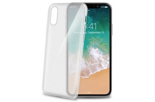 iPhone X Gelskin hoesje wit
