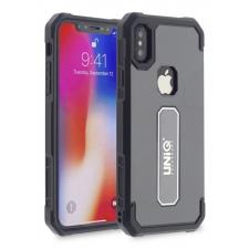 iPhone X protectieve silicone achterkant grijs