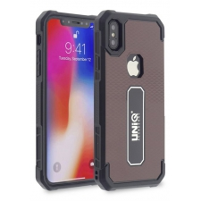 iPhone X protectieve silicone achterkant rood