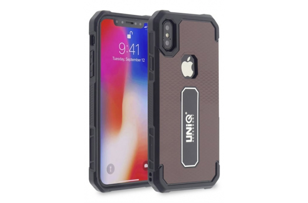 iPhone XS protectieve silicone achterkant rood