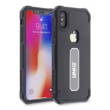 iPhone X protectieve silicone achterkant zwart