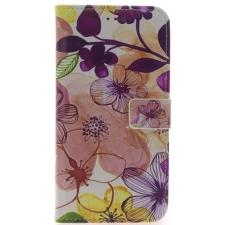iPhone 7/8 Plus Bloemen Print booktype hoesje
