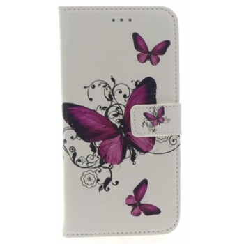 iPhone 7/8 Plus Roze Vlinders Print booktype hoesje