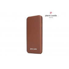 iPhone 7/8 Bookcase Pierre Cardin Echt leer Bruin