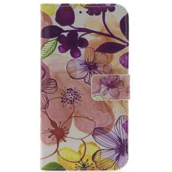 iPhone X Bloemen Print booktype hoesje
