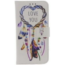 iPhone X 'Love You Dromenvanger' Print book hoesje