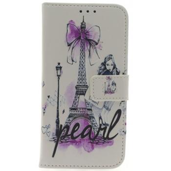 iPhone X Eiffeltoren Pearl Print booktype hoesje