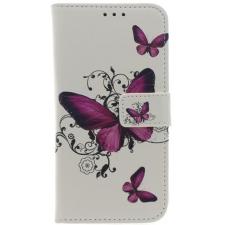 iPhone X Roze Vlinders Print booktype hoesje