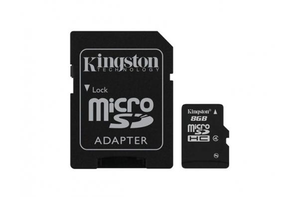 Samsung Galaxy A3 2017 Micro SD 8GB met adapter