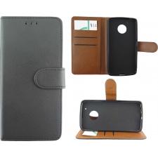 Motorola Moto G5 Premium Hoesje Zwart