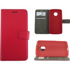 Motorola Moto G5 Premium Hoesje Rood