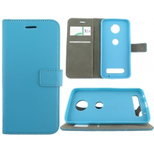 Motorola Moto Z Play Premium Hoesje Turquoise