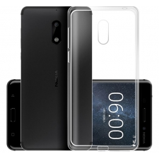 Nokia 6 Siliconen hoesje Transparant