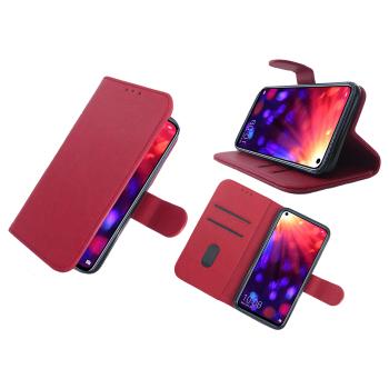 Samsung Galaxy A52 hoesjes leer rood