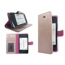 Iphone XS Max Bookcase Roze