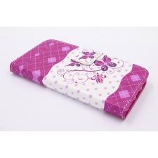 iPhone 7 'Roze Vlinder' Print Eco-Leer Hoesje