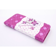Samsung Galaxy S8 Plus 'Roze Vlinder' Print Eco-Leer Hoesje