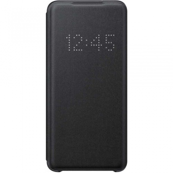 Orgineel hoesje zwart Samsung Galaxy S20 Clear View