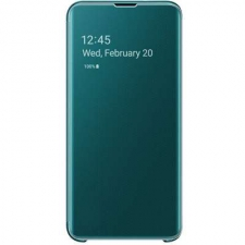Samsung Clear View Booktype Samsung Galaxy S10 -Groen
