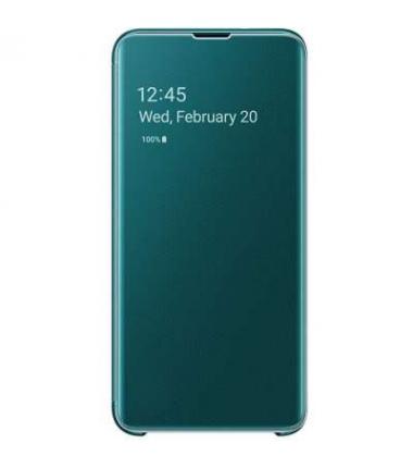 Samsung Clear View Booktype Samsung Galaxy S10 -Groen