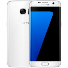 Refurbished Samsung Galaxy S7 Edge 32GB wit (kras onder)