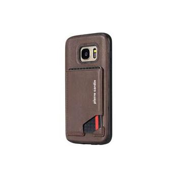 Samsung Galaxy S7 Origineel Luxe Back Cover Pas 100% Leer Donker Bruin