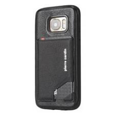 Samsung Galaxy S7 Origineel Luxe Back Cover Pas 100% Leer Zwart