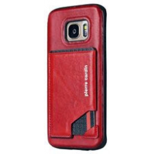 Samsung Galaxy S7 Edge Origineel Luxe Back Cover Pas 100% Leer Rood