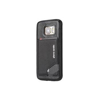 Samsung Galaxy S7 Edge Origineel Luxe Back Cover Pas 100% Leer Zwart