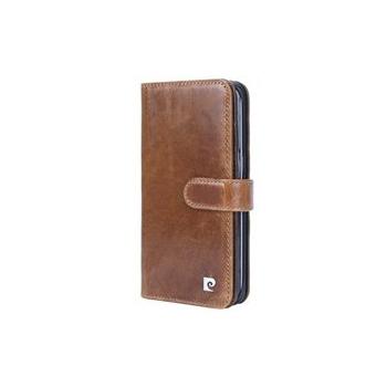 Samsung Galaxy S7 Edge Origineel Luxe Book Case Hoesje 100% Leer Bruin