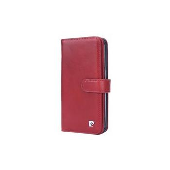 Samsung Galaxy S7 Edge Origineel Luxe Book Case Hoesje 100% Leer Rood