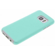 Samsung Galaxy S7 Edge Premium Bumper Hoesje Turquoise