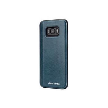Samsung Galaxy S8 Plus Origineel Luxe Back Cover 100% Leer Groen Blauw