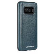 Samsung Galaxy S8 Origineel Luxe Back Cover 100% Leer Groen Blauw