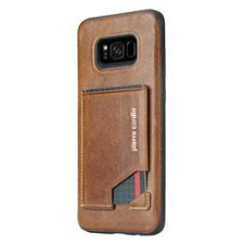 Samsung Galaxy S8 Plus Origineel Luxe Back Cover Pas 100% Leer Licht Bruin