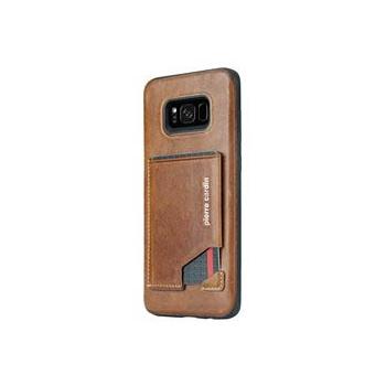 Samsung Galaxy S8 Plus Origineel Luxe Back Cover Pas 100% Leer Licht Bruin