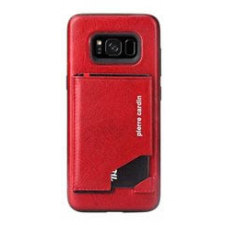 Samsung Galaxy S8 Origineel Luxe Back Cover Pas 100% Leer Rood