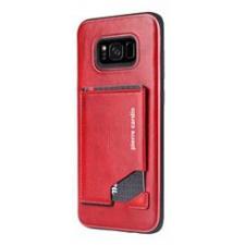 Samsung Galaxy S8 Plus Origineel Luxe Back Cover Pas 100% Leer Rood