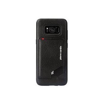 Samsung Galaxy S8 Origineel Luxe Back Cover Pas 100% Leer Zwart