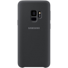 Originele Samsung Galaxy S9 silicone achterkant hoesje in zwart